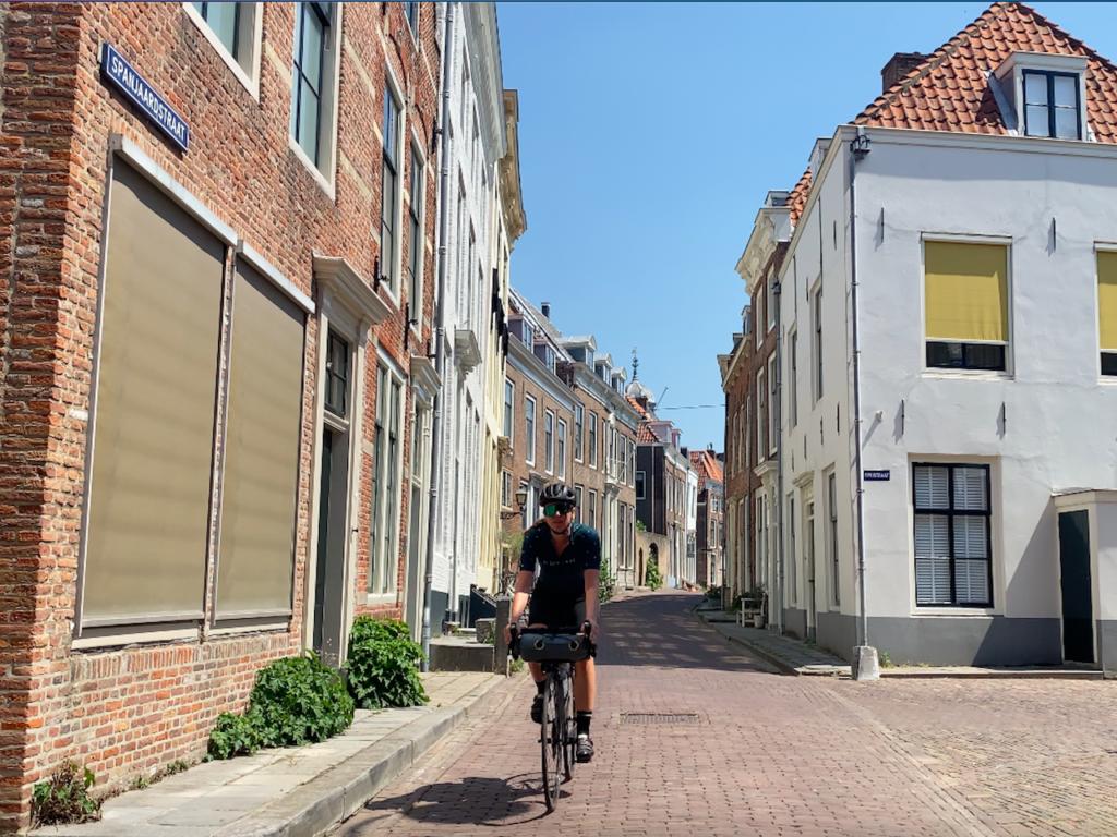 Fietsen door Middelburg