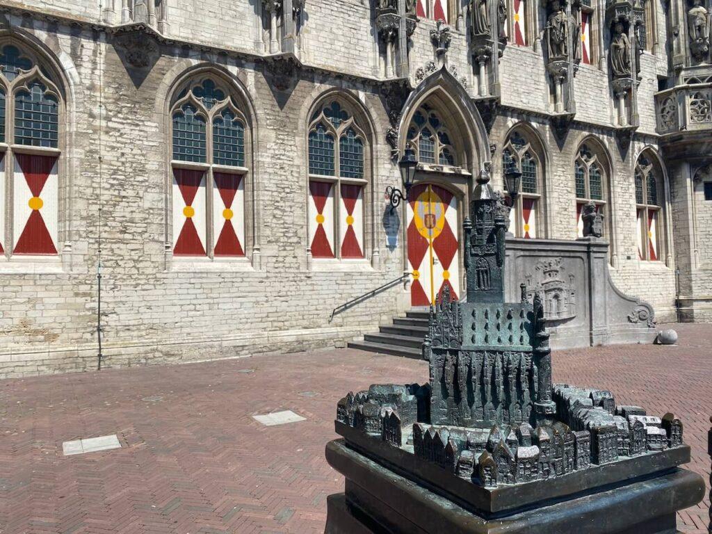 Kunstwerk voor het stadhuis van Middelburg