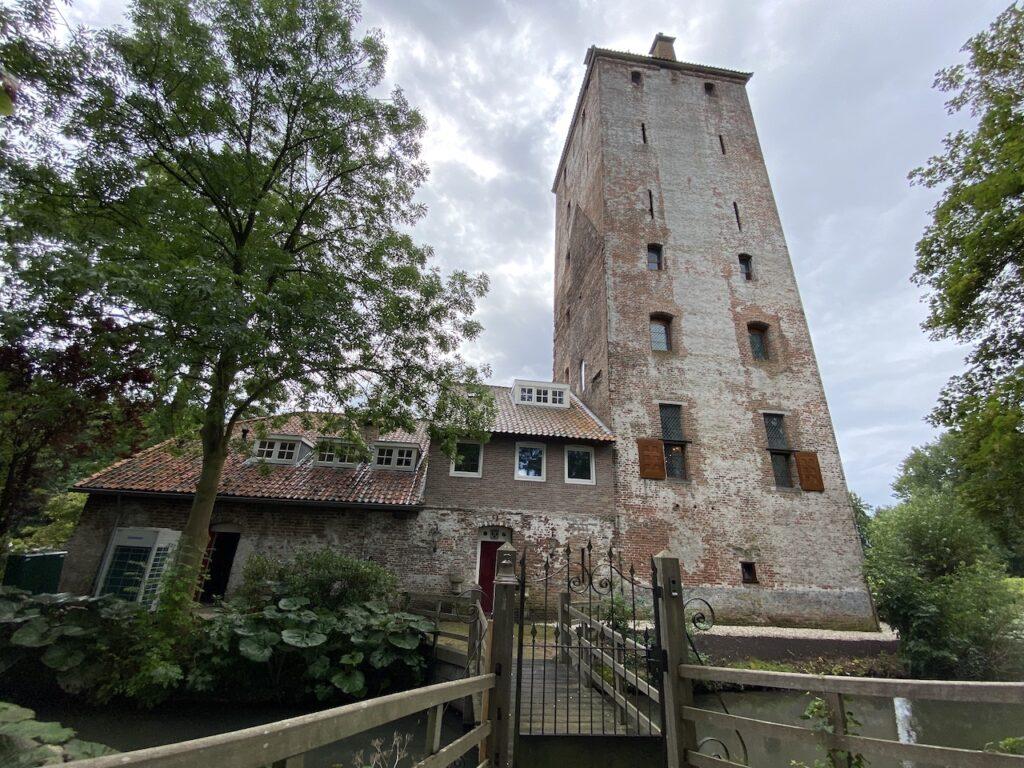 Hamtoren onderdeel van kasteel den Ham