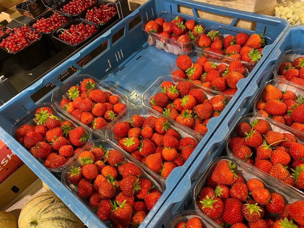 Verse aardbeien Plattelandswinkel Goes Utrecht