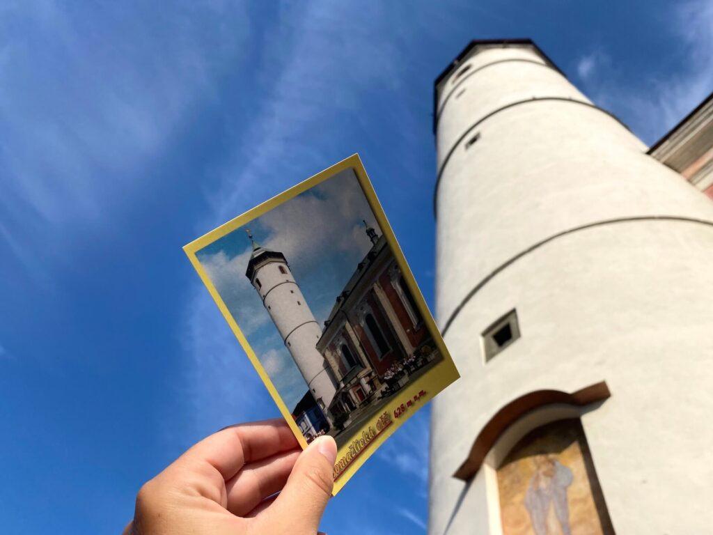 Toren van Domažlice beklimmen