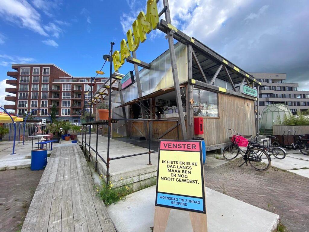 Venster RAUM Utrecht