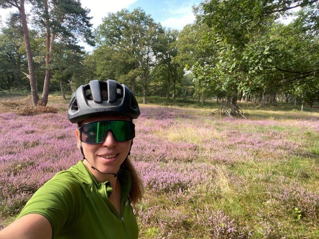 Zuiderheide Hilversum fietsroute