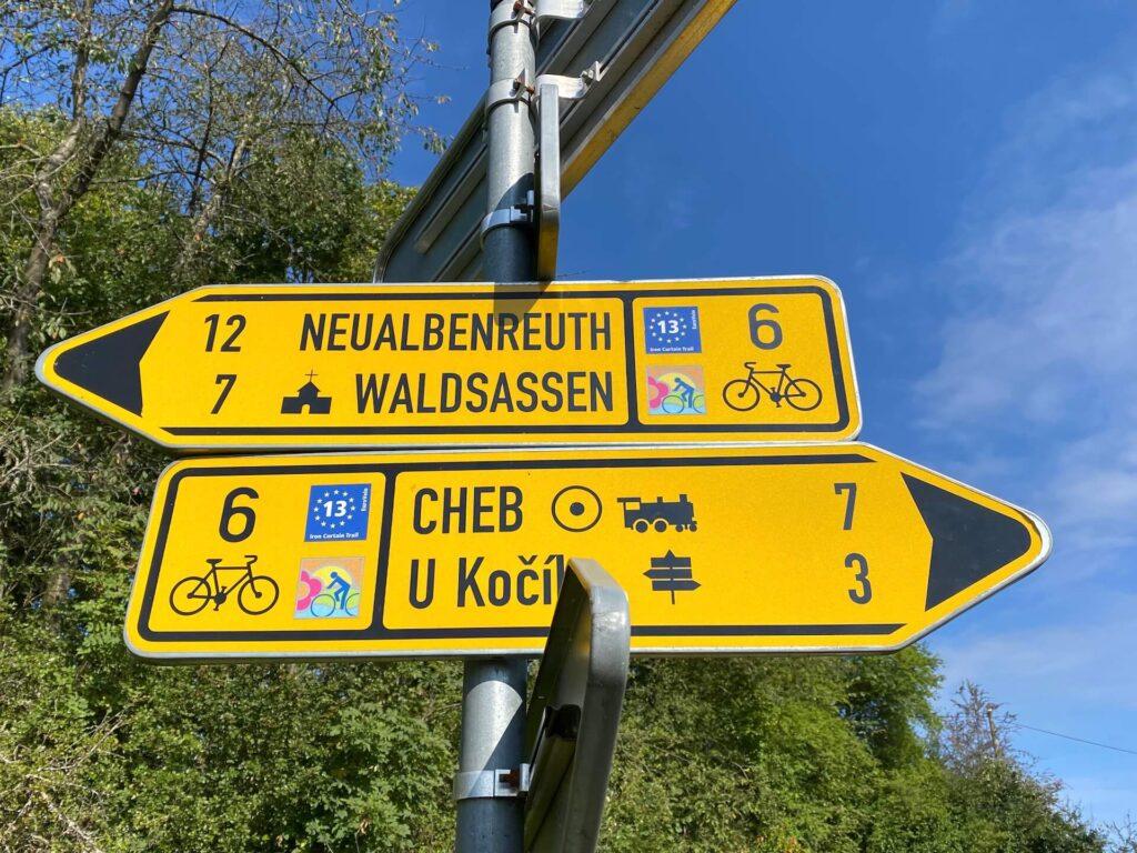 Iron Curtai Trail, Eurovelo 13 in Tsjechië